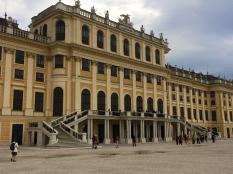 Back of Front of Schönbrunn Palace